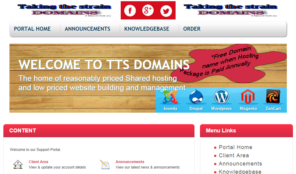 TakingtheStrainDomains.co.uk is Live